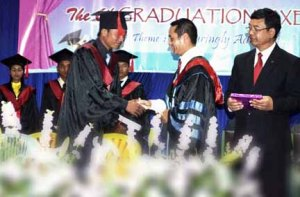 Mizoram Bible College Graduation